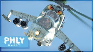RUSSIAN HELICOPTERS  | MI-24 Hind (Crocodile) & Mi-4AV Showcase (War Thunder Helicopters Gameplay)