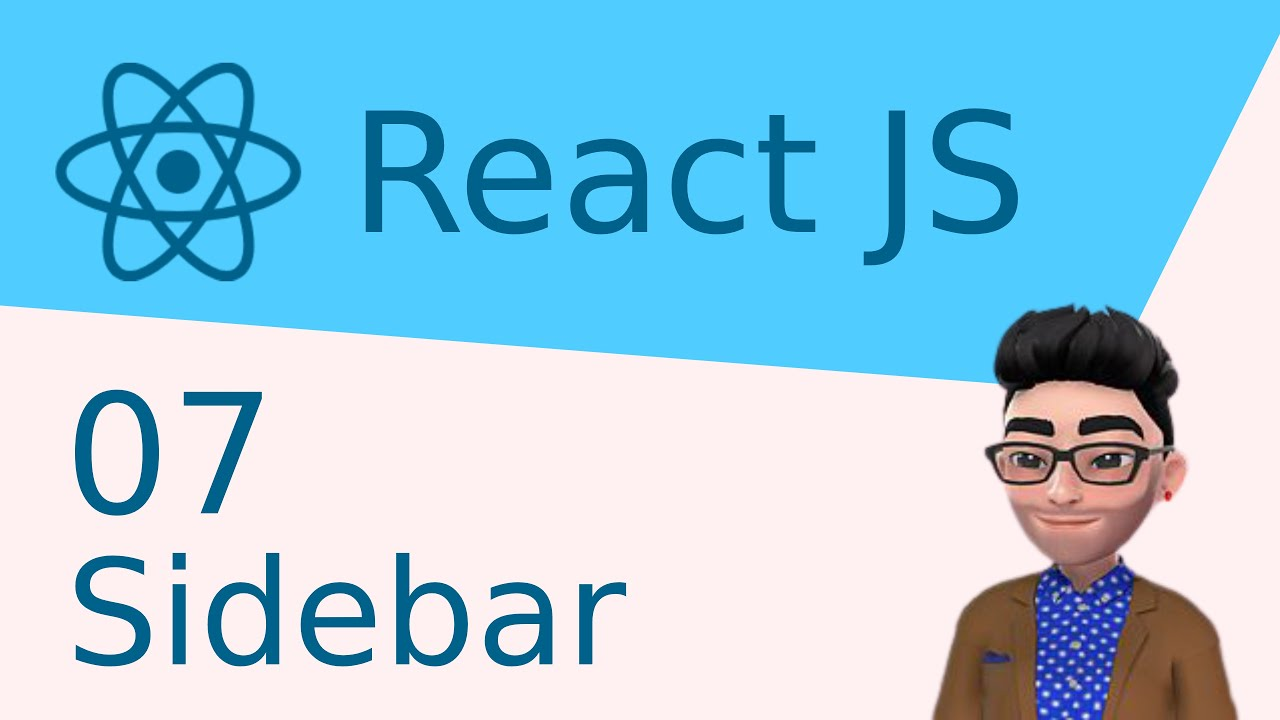 Make an App with React JS / JavaScript: Let's Make a Sidebar!