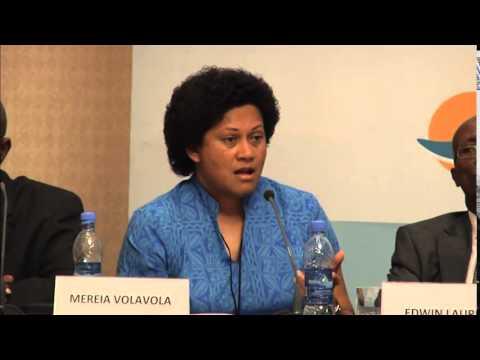 Side Event - Mereia Volavola on Small-islands Economies