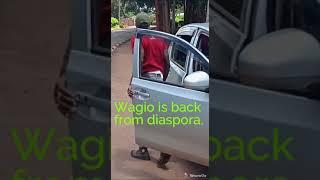 Wagio is back from diaspora. #diasporachronicles.#kikuyucomedy