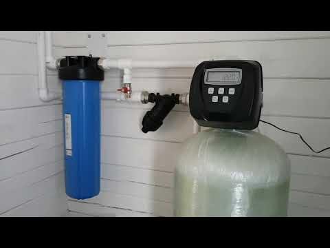 Очистка воды от железа в доме.