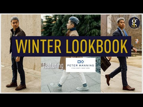 WINTER OUTFIT IDEAS & Why They Work | Men's Smart Casual Winter Lookbook 2018