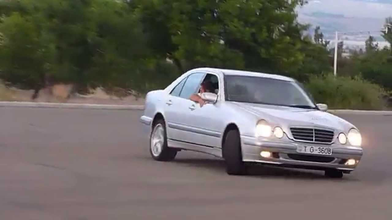 mercedes e 270 cdi drift - youtube