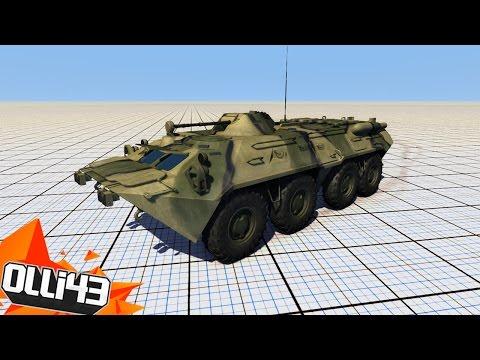 BTR80 DESTRUCTION TEST!! (BeamNG Drive Stress Test Gameplay!)