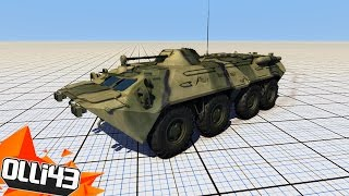 BTR80 DESTRUCTION TEST!! (BeamNG Drive Stress Test Gameplay!)