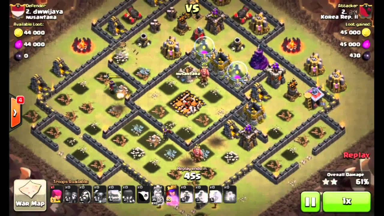 Clash Of Clans Th10 Base War - Year of Clean Water