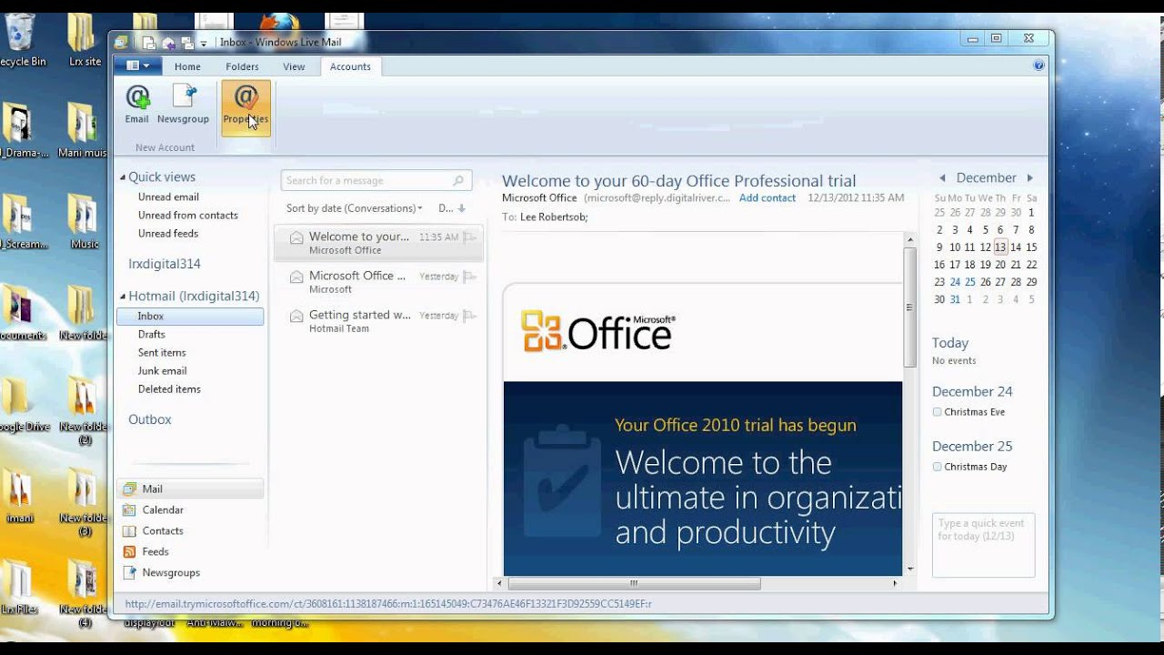 how to stop hotmail automatically deleting emails