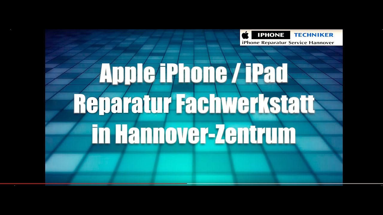 iphone reparatur hannover tel 0511 6065500 goethestr 42 30169 hannover video 10 youtube. Black Bedroom Furniture Sets. Home Design Ideas