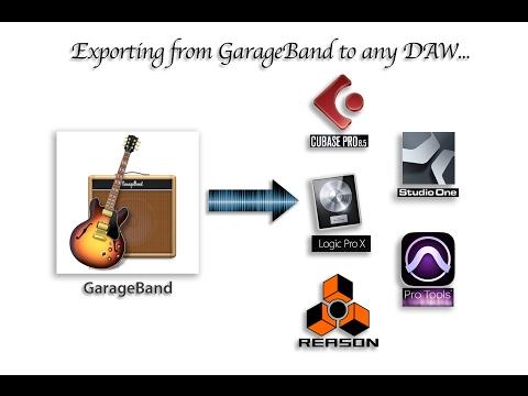 Export From GarageBand