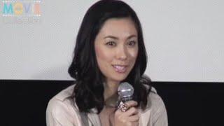 11月11日に新宿武蔵野館で『ゲゲゲの女房』試写会トークショーが行われ...