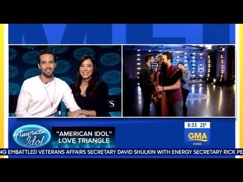 American Idol's Trevor Holmes & Girlfriend Chat Katy Perry Crush (GMA)