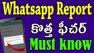 whatsapp new feature today | whatsapp latest update today | whatsapp report telugu | tekpedia