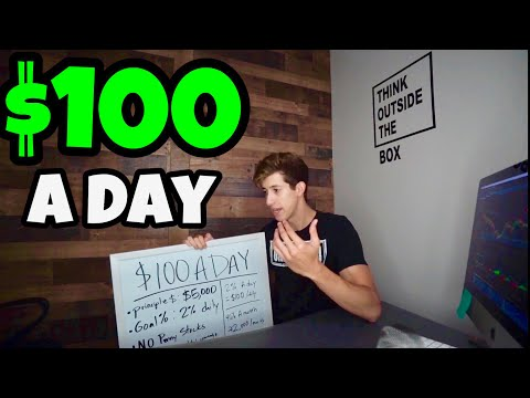 How Much MONEY You Need To Make $100 A Day