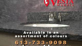 Vesta Marble Vanity And Table Top Promotion