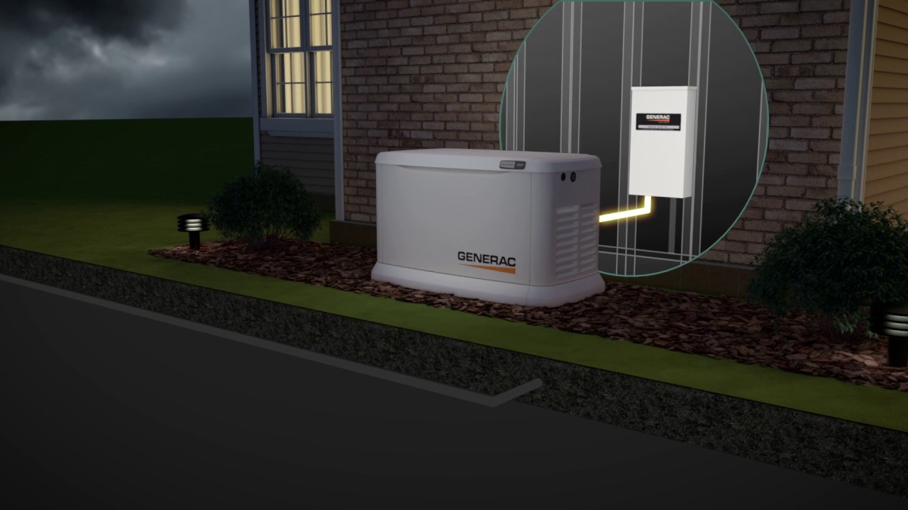 generac guardian series air cooled standby generator 11 kw lp 10