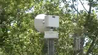 Livonia, MI Fire Dept #1 (Headquarters) FS 2001-DC Tornado Siren Test July 5th, 2008