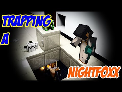 TRAPPING A NIGHTFOXX -|- Minecraft Xbox Arctic Survival {10}