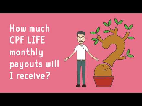 How much CPF LIFE monthly payouts will I receive?