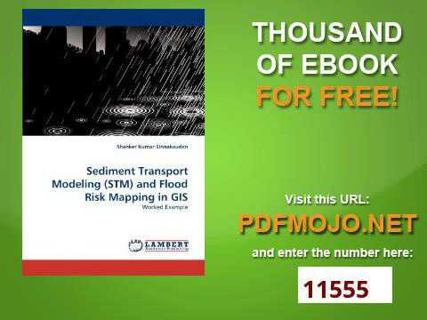 Sediment Transport Modeling STM and Flood Risk Mapping in GIS Worked Example