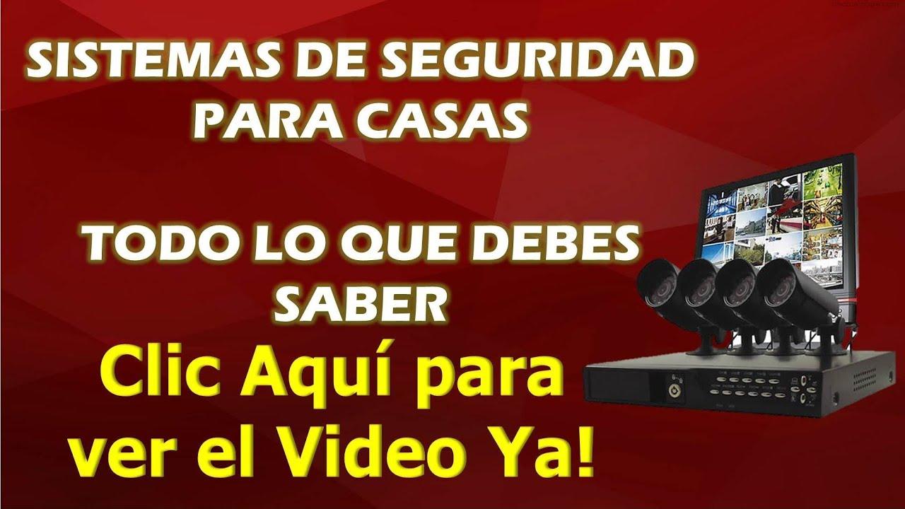 Sistemas de seguridad para casas alarma para casa youtube - Sistemas de seguridad ...