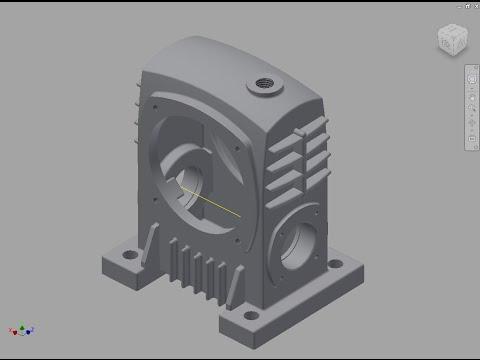 電腦輔助機械設計製圖乙級實體建構 - YouTube