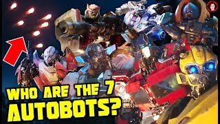 Who Are the 7 NEW Autobots That Landed On EARTH? - Bumblebee Movie (2018)