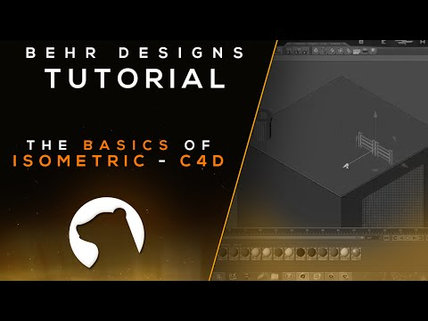 Tutorial: Basic's of Isometric (Cinema 4D) - Behr