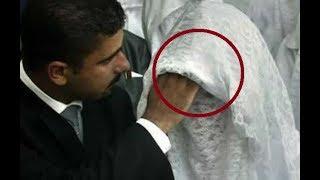 Жених УВИДЕЛ ЛИЦО невесты во время свадьбы и сразу же ПОДАЛ на развод: причина поражает