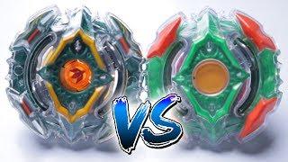 BEYBLADE BURST BATTLE | Yggdrasil VS Yegdrion - Takara Tomy VS Hasbro