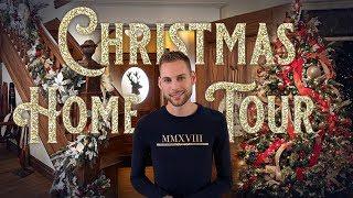 Christmas Home Tour - Christopher Hiedeman's Christmas Decorating - Historic Home Tour