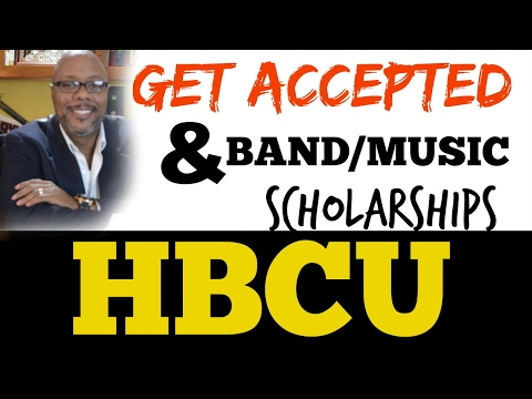 Parent Education: How to Earn a Band or Music scholarship from a HBCU!
