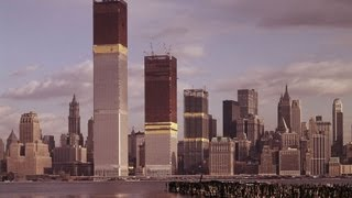 World Trade Center Construction 1968-1972