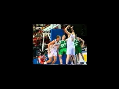 1999 Eurobasket quarter final spain-lithuania