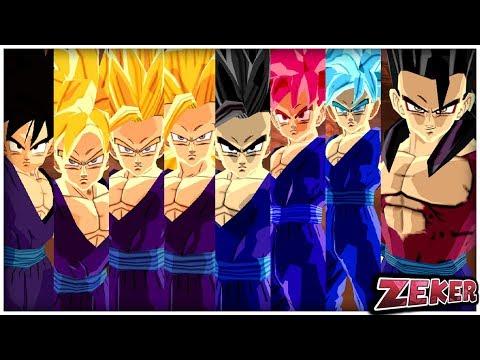 Teen Gohan All Transformations | Dragon Ball Z Budokai Tenkaichi 3
