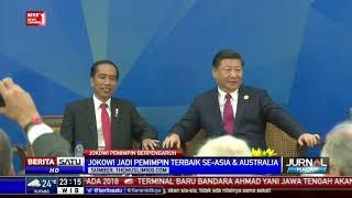 Jokowi Masuk Pemimpin Dunia dengan Kinerja Positif