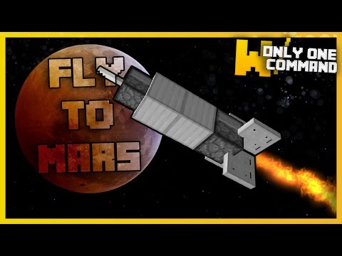 New Dimension In Minecraft: FLY TO MARS With Only One Command!