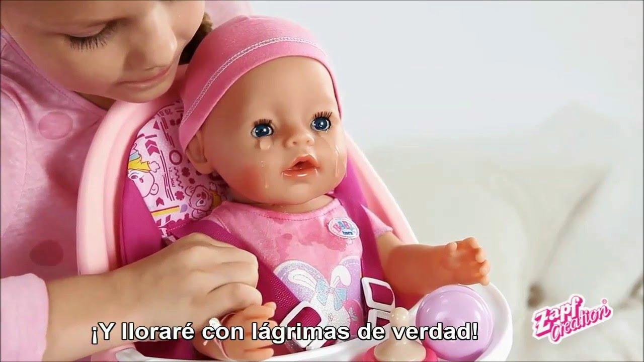 Como Funciona Mi Baby Born Interactivo Youtube