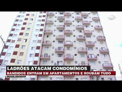 Ladrão invade apartamentos e 'faz limpa' em SP