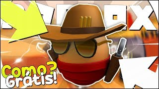 COMO GANHAR o EGG SHERIFF no ROBLOX - Zombie Rush [Tallaheggsee] [Egg Hunt]