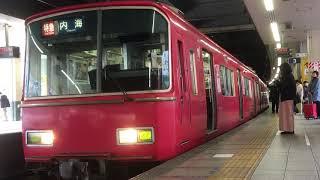 [6R特急]名鉄6500系金魚鉢 6518f(特急内海行き)金山駅 発車‼️