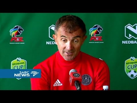 Milutin Sredojević readies his charges for Nedbank Cup