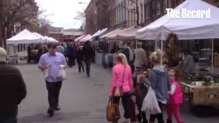 The Troy farmers market moves outdoor for the summer season.