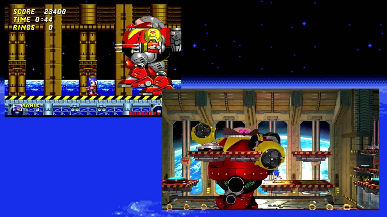 Boss Themes Sonic Final
