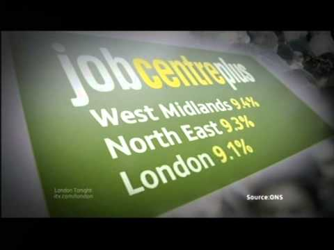 London: One of three places to see rise in unemployment (Dec 2012)