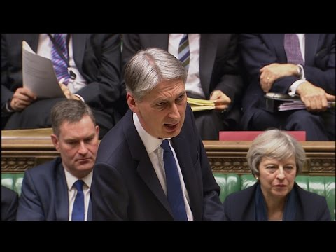 Philip Hammond unveils Spring #Budget2017 (FULL)