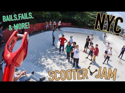 SCOOTER JAM IN NYC *BROADWAY RIDE DAY*
