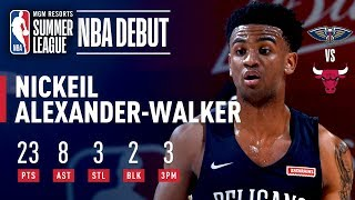 Nickeil Alexander-Walker Stuffs The Stat Sheet In Summer League Debut | July 8, 2019