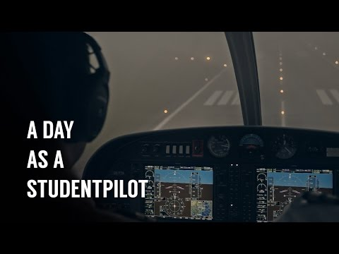 Pilot Flight Academy - A Day In The Life As A Studentpilot