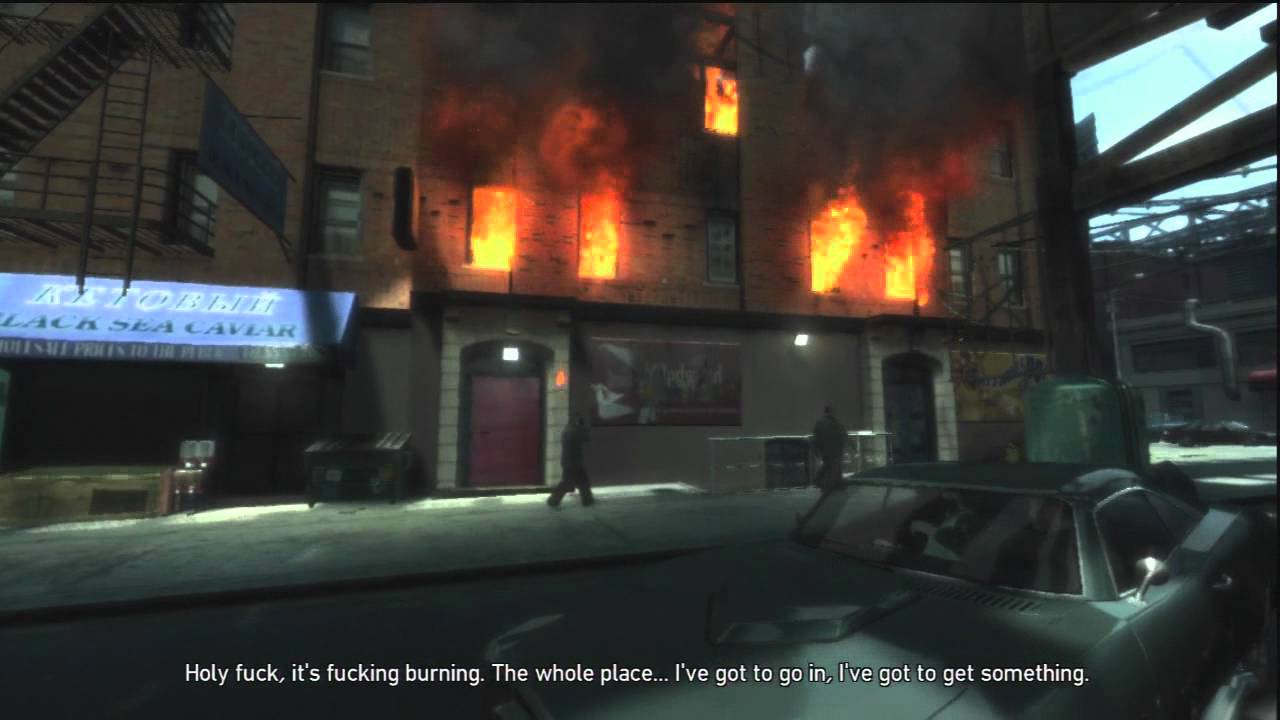 grand theft auto iv burning down the house ep 17 youtube