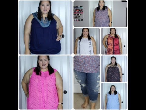 Wal-Mart & Torrid Plus Size Clothing Haul + Try On!!